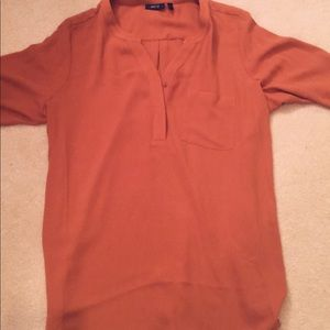 Women's extra large copper blouse. Never worn